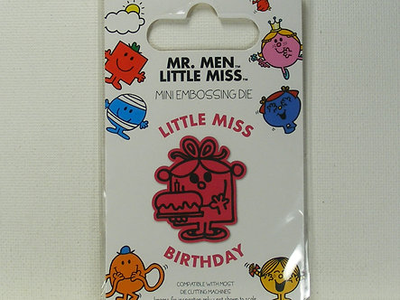Mr Men - Little Miss Birthday Die