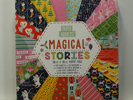 Paper Addicts - Magical Stories 10cm x 10cm Paper Pad
