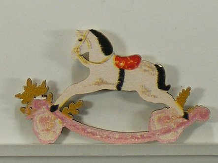 Hobbycraft - Rocking Horse Wooden Toppers