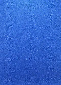 A4 Glitter Card (Non Shed) - Bright Blue 180gsm.