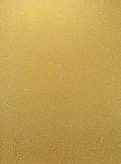 A4 Glitter Card (Non Shed) - Gold 180gsm.