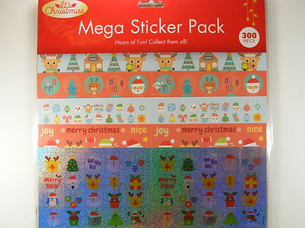It's Christmas - Mega Sticker Pack. 300 Pieces.