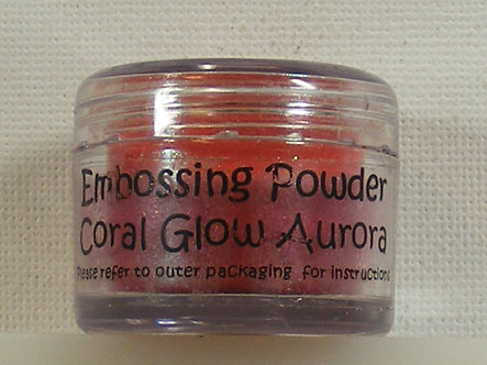 Cosmic Shimmer - Coral Glow Aurora Embossing Powder