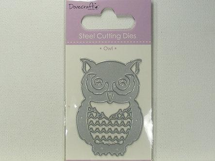 Dovecrafts - Owl Steel Cutting Die