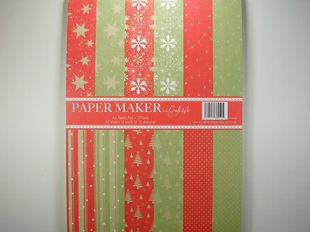 Craftstyle - A4 Papermaker Christmas Pad.