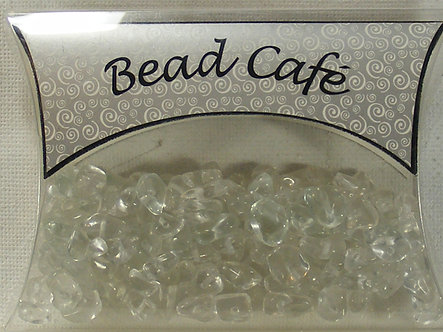 Bead Cafe - Clear Glass Bead Chips (40gms)