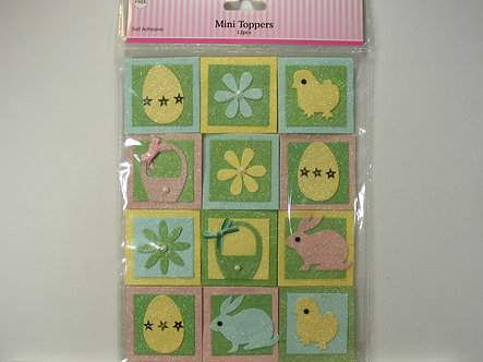 Craftime - Easter Mini Topper Pack.
