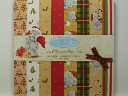 "Me To You - 6"" x 6"" Premium Christmas Pad"