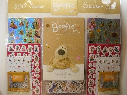 Boofle Super Sticker Set.
