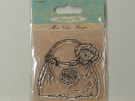 Docrafts - Pampered Pets - Handbag Mini Clear Stamp.