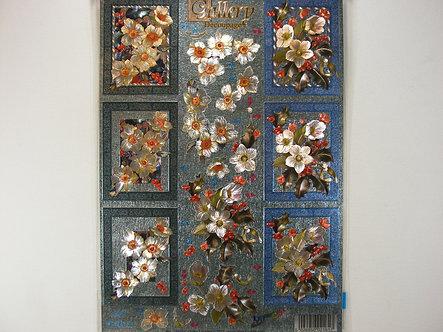 Dufex Gallery Decoupage - Flower Arrangement.