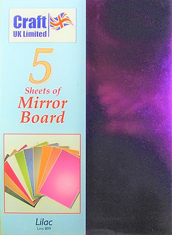 Craft UK - A4 Mirror Board Lilac