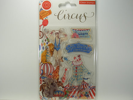 Craft Consortium - The Circus Greatest Show Clear Stamps