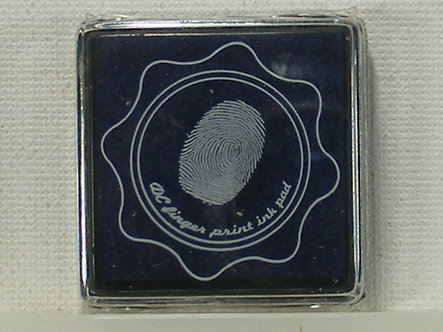 DC - Fingerprint Ink Pad - Navy Blue