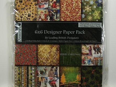 "Dovecraft - Victorian Christmas 6"" x 6"" Designer Pack"