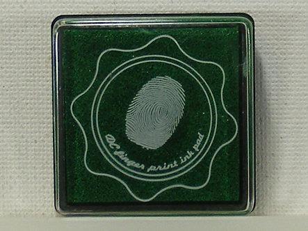 DC - Fingerprint Ink Pad - Forest Green