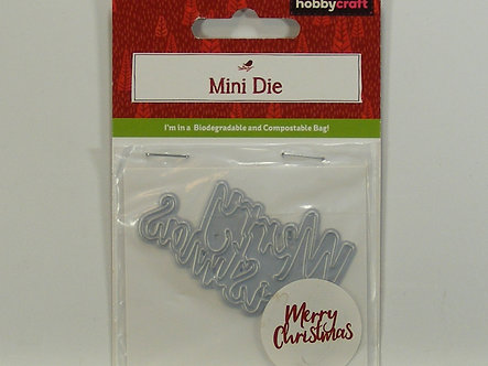 Hobbycraft - Mini Dies - Merry Christmas