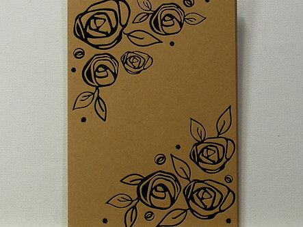 Craftwork Cards - A6 Kraft Card Foiled Mats