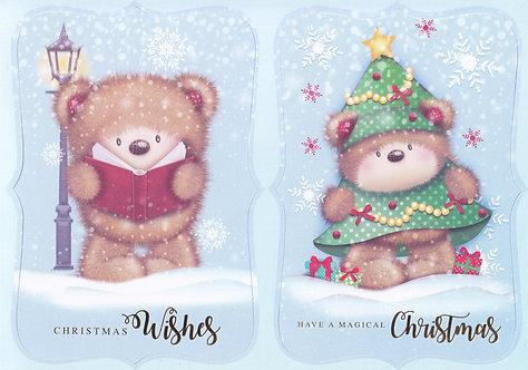 Kanban - Christmas Kanbears Topper Sheet
