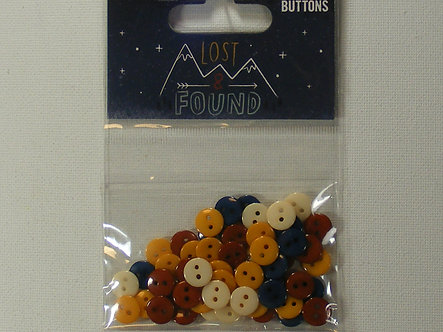 Dovecraft - Lost & Found Plastic Buttons