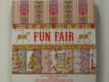 "Helz Cuppleditch - Fun Fair 6"" x 6"" Designer Paper Pack"