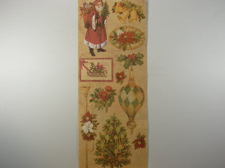 Anna Griffin - Vintage Christmas Stickers