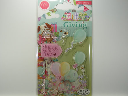 Helz Cuppleditch - The Gift Of Giving Special Day Clear Stamps