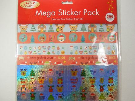 It's Christmas - Mega Sticker Pack. 300 Pieces.
