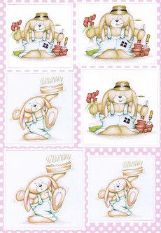 Buzzcraft - Honey Bunny - Birthday Cake