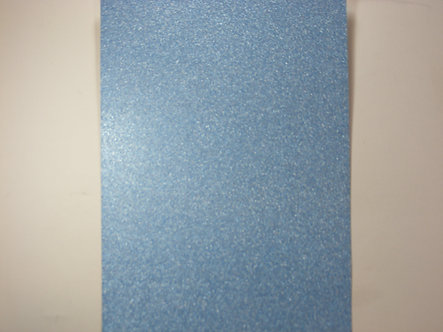 A4 Glitter Card (Non Shed) - Baby Blue 180gsm.