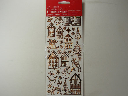 Docrafts - Create Christmas - Copper