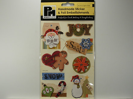 Papermania - Handmade Stickers & Foil Embellishments.