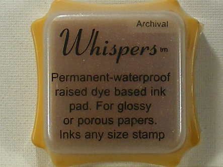 Archival - Whispers Straw Mat Dye Based Ink Pad