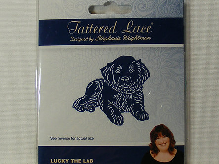 Tattered Lace - Lucky The Lab Die