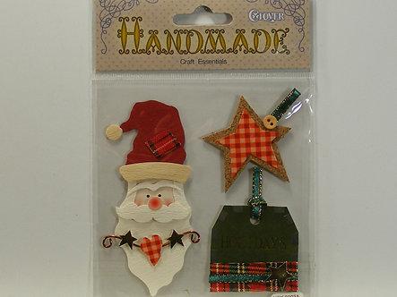 Clover - Handmade Craft Essentials Santa Head