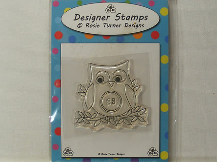 Rosie Turner - Owl Acrylic Stamp