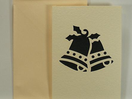 A6 Apeture Cards - Cream Bells (5pk)
