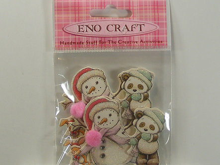 Eno Craft - Snowman & Bear Toppers