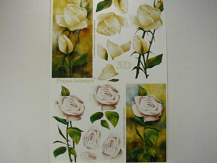 Le Suh 3D Decoupage - Roses.