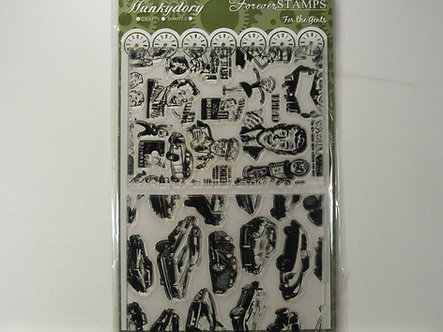 Hunkydory - For the Gents A5 Clear Stamp Set