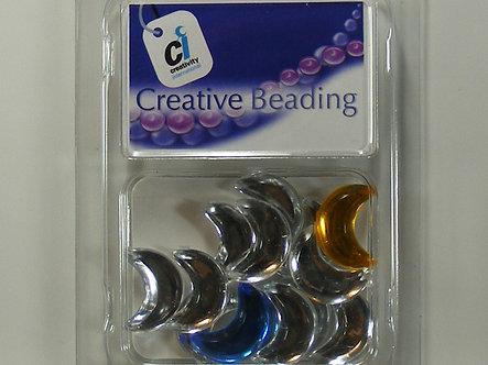 Creativity International - Pastel Acrylic Moon Jewels