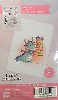 Crafters Companion - Lee Holland Designs - From Me To You