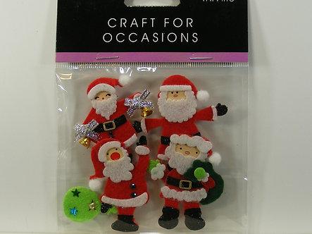 Trimits - Santa Claus Toppers.