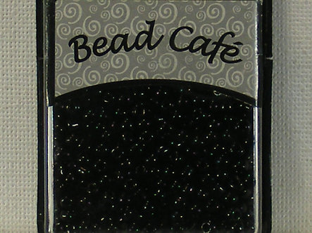 Bead Cafe - Black 3mm Glass Beads