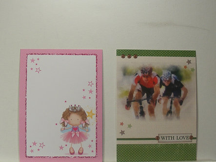 """Kanban - Card Toppers Pack 13. (6"""" x 4"""")"""