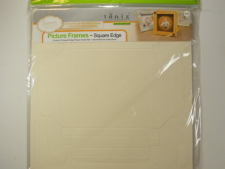Tonic Studios - Square Picture Frame Kit (Ivory).