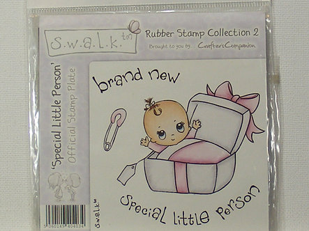 Crafters Companion - S.W.A.L.K. - Special Little Person Rubber Stamp