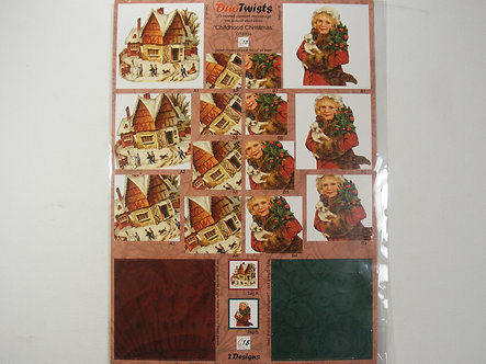 National Crafts - Childhood Christmas Decoupage.