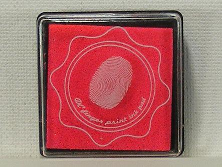 DC - Fingerprint Ink Pad - Vibrant Pink
