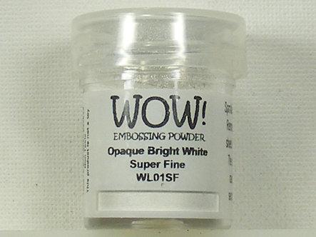 WOW! - Opaque Bright White Super Fine Embossing Powder